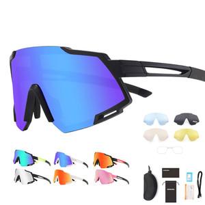 5 عدسة الدراجات نظارات نظارات دراجة النظارات الجري الصيد الرياضية الاستقطاب bicicleta cilismo lentes الدراجات النظارات الشمسية الرجال النساء