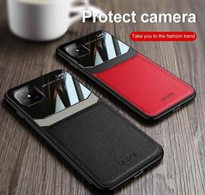 Pour Oppo R9 R9S R11 R11S R15 R17 Plus A8 A91 A9 A9 A9X A92S A92S A52 A72 A53 2020 Résistance à la résistance du cuir Protection des yeux PROTECTION SOFT SOFT JLLAX