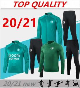 2020 2021 vestons de formation de football Rotterdam Kit 20/21 Feyenoord Camisola de Futebol KOKCU BERGHUIS V.PERSIE Football de jeu de Survêtement