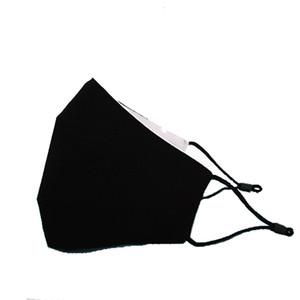 Entrega rápida Sin demora Venta caliente transpirable Negro PM2.5 Polvo A prueba de polvo Cara de algodón ajustable Máscara
