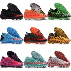 2020 top quality mens soccer shoes Future 5.1 Netfit FG soccer cleats Future 5 football boots scarpe da calcio Outdoor Breathable Spikes new