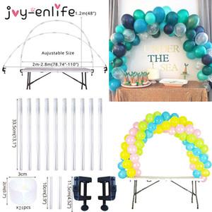 38pcs Adjustable Table Balloon Arch Kits DIY Birthday Party Wedding Decoration Balloons Column Stand Baby Shower decor ballon Q1124