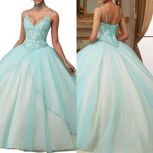 Princess Sling Dresses for Women Long Length Dress Applique Sexy V-Neck Evening Party Ball Gown Dancing Dresses