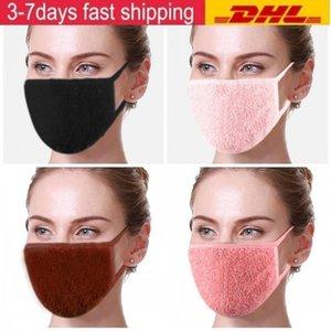 2021 Nouveau designer Coton adulte masque de flanelle hiver chaud motard chaleur motard moteur masque de ski masque de ski oreillettes réutilisables lavable gwc3860