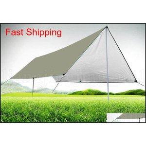 Waterproof Camping Mat 3*4m Mattress Outdoor Tent Cloth Multifunction Awning Tarps Canopy Picnic Mat qyljvM packing2010