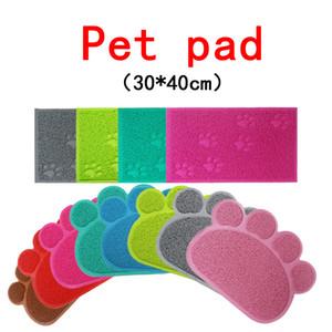 PET DOG MAT PAD PAD PAW PVC PLACA DE PLATA DE PLATACIÓN CAT LISTA MATER MATER PET PET PERSIMENTO ALIMENTACIÓN DE ALIMENTACIÓN Mascotas Mascotas Accesorios para mascotas