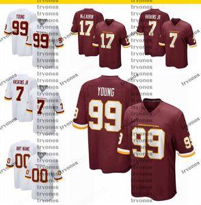2020 New Mens 21 Sean Taylor 7 Dwayne Haskins Jr. 99 Chase Young 17 Terry McLaurin 91 Ryan Kerrigan Alex Smith Team Football Jerseys