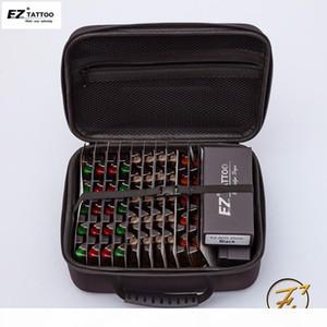 100pcs EZ V-Sélection de la cartouche de cartouche RL RL M1 cm Aiguilles de taille mixte avec 2pcs Poignées Kits de tatouage Fourniture 201124