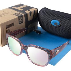 Sunglasses polarisées de l'eau Polarisée Femmes Costa Marque Designer Carré Sun Lunettes Pour Femmes Lunettes de soleil Lunettes de soleil Femme Oculos