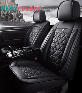Universal Fit Car Interior Accessories Seat Covers For Sedan Leather Adjuatable Five Seats Free Shipping Design Seat Cover For SUV Black