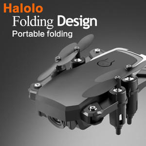 Halolo LF606 D2 Best Quadrocopter Mini Drone With 4K Camera FPV Profesional HD Camera Drones Altitude Hold Children helicopter