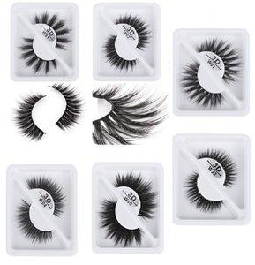 1 Pair 3DW Single Stem Natural False Eyelashes 3D Multilayer Curling Eyelashes 3D Soft Eye Lashes