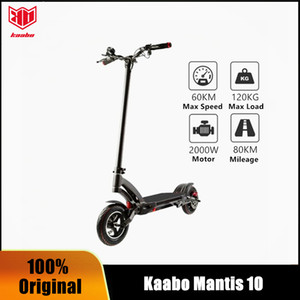 Original Kaabo Mantis 10 dual motor e-scooter 2000W Samsung LG battery 60V 24.5Ah electric scooter two wheel foldable skateboard