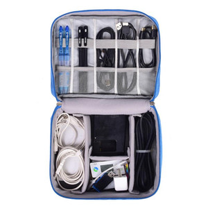 Travel Organizador Portable Digital Accessories Gadget Devices Organizer USB Cable Charger Tote Case Storage Bag Hot Sale