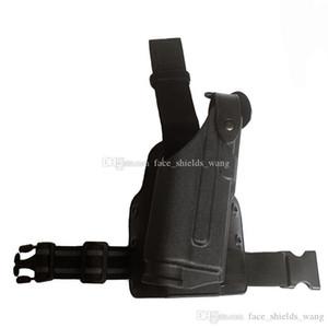 GL0CK 17/19/22/23/31 Drop Guns Holster Platform Safariland Flashlight Tactical Ligh와 Safariland 다리 패들