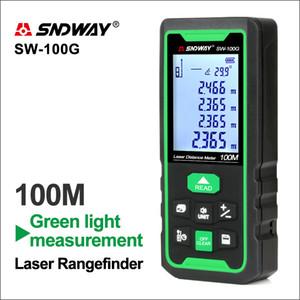 SNDWAY LASER DARGEDFINDER Зеленые линии Расстояние дальномер цифровой дальности Диапазон лазерной ленты расстояние расстояние датчик датчика датчика T200603