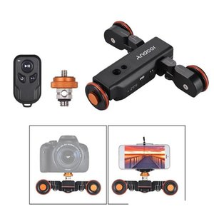Andoer L4 Pro Control remoto inalámbrico Mini Slider Skater Patinador para cámara Cámara Motorizada Video Dolly Electric Track Slider