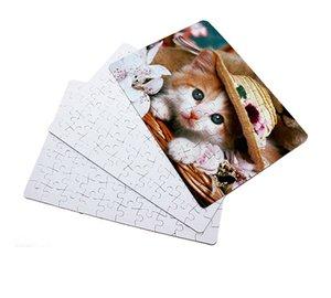 Boş Süblimasyon Termal Transferi Isı Baskı DIY A4 Boş Bulmaca Oyuncak Çocuklar Hediye Kağıt Bulmacalar Can DIY Resimleri Boutiuqe F120507