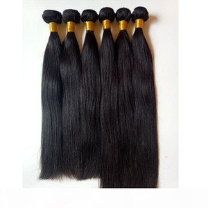 Brazilian straight Virgin Hair 3 4 5Bundles Human Hair Weaves Unprocessed Cheap Dyeable Hair Extensions Factory Direct Sale Wholesale