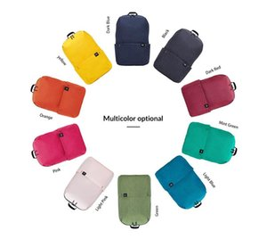Original Xiaomi 10L 15L 20L Backpack Bag Colorful Leisure Sports ChestPack Unisex For Mens Women Travel Bags For Child Backpack