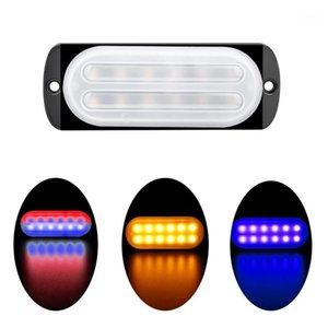 New 12-24V Light Guide Section 12LED Truck Flashing Lights Car Ultra-Thin ce bian deng Lights Warning Light1