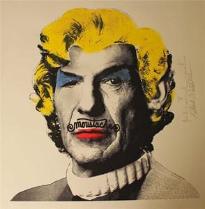 Мистер Brainwash Graffiti Art Mr Spock NiMoy Home Decor Gentcrafts / HD Печать Маслом живопись на холсте Настенное искусство Картинки, F201209