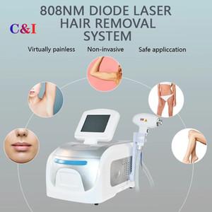 2021 Mode Elight 808nm Diode Diode Laser Coiffeur Machine Faciliaire Tous les types de peau Permanent 808 Equipement de beauté