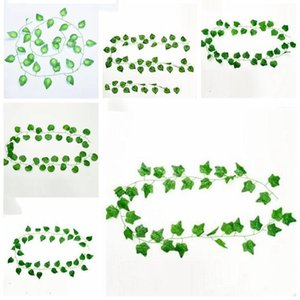 Artificial Greenery Artificial Plants Leaves Hanging Vine Leaves Artificial Tree Branches Fake Leaves Wedding Garden Decoration LXL998-1