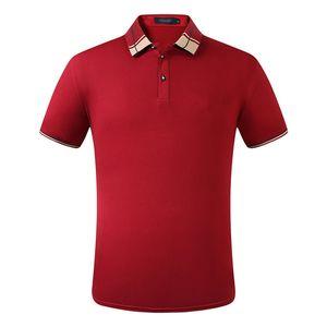 Мужская одежда мужская равнина хлопок вышитая с короткими рукавами футболка оригинальная одномацкая рубашка мужская рубашка