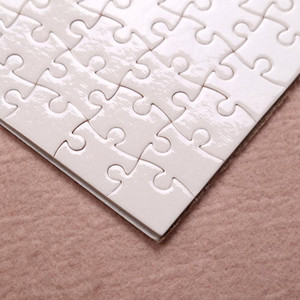 DIY Sublimation A4 Puzzles Blank Puzzle Jigsaw Heat Printing Transfer Local Return Gift