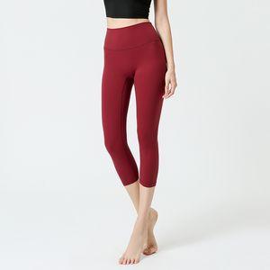 Collants 1eggings Vêtements de Yoga Pantalons de sport Femmes Gymnase Matin Matin de course Haute Qualité Vêtements Marques Femmes