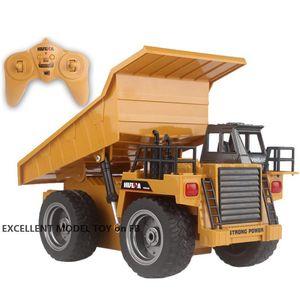 HN540 6 canali RC RC Gump Truck Autocarro ribaltabile Giocattolo ribaltabile, Diecast Lega 1:16 Big-size, Veicolo di ingegneria, Luce di svolta, Regalo di compleanno del bambino di Natale, 2-1
