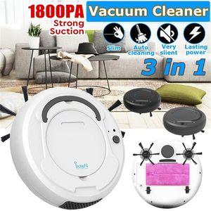 Mini Robot Vacuum Cleaner Ультратонкий пылесос Cleaner Автоматический бытовой робот Cleaner Sweeper Pet Pet Hair Sop