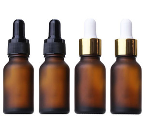 Wholesale 936pcs lot 15ml Cosmetic Amber essential oil glass bottle vials 15ml Dropper Bottle liquid glass bottle SN2127