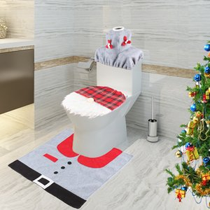 2020 New Product Forest Elderly Toilet Cover No Face Doll Christmas Gift Christmas Foreign Trade Christmas Decoration Y1124