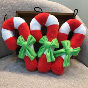 Jouets de chien Toys de Noël Béquille de Noël Streaker Chew Sound Jouet Son pour chiot Cat Training Produits Dog brillant jouets GWD3075