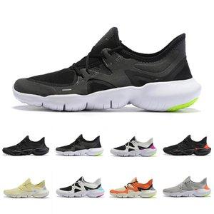 고품질 RN 5.0 Mens 디자이너 실행 신발 새로운 숙녀 통기성 가벼운 인과 신발 패션 야외 운동화 신발