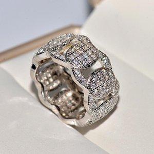 18K White Gold Jewelry Ring Women Origin Natural Moissanite Gemstone Pave Setting Engagement Gold Jewelry 18k Ring Box Men