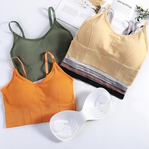Sexy Tube Top Women Breathable Famale Brassiere Seamless Bralette with Chest Pad Lingerie Girls Bras Beauty Back