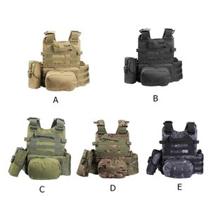 Hunting Tactical Body Armor Waterproof Outdoors Vest Jungle Outlife Armor Training Protective Waistcoat Hunting Equipment