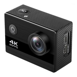 Sports & Action Video Cameras Camera 4K 60 Frame HD Waterproof 2.0 Inch IPS Underwater Cycling DV1