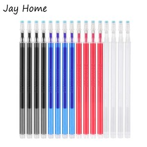 50 100pcs High Temperature Heat Erasable Pen Fabric Marker Pen Refill for Quilting Patchwork Fabric PU Leather Mark Sewing Tools