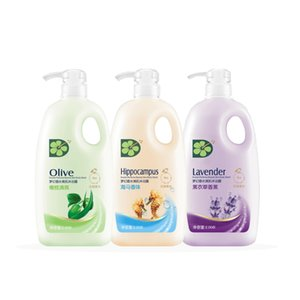 2L Perfume Shower Gel Seahorse Lavender Olive Refreshing Moisturizing Therapy Skin Care Long Lasting Fragrance Body Wash