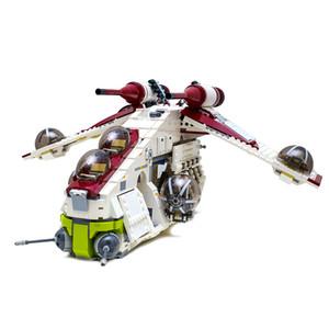 En stock 05041 Planet Series Republic Buhermers Blocks Blocks Toys Navidad Regalo Comptible 75021