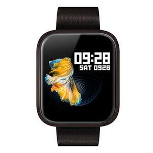 Dynamic heart rate Da Fit APP smart watch P70 Full touch screen smartwatch P80 with real time blood pressure oxygen monitoring