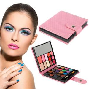 32 Colors Eyeshadow Kit Matte Eye Shadow Palette Makeup Cosmetic Waterproof Shadow Mineral Pigment Metallic Eye Make Up TSLM1