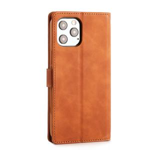 Capa de couro flip para iPhone12PRO 11PRO MAX XR X 7PLUS 8 Caso de telefone de luxo para Samsung S20