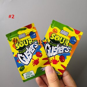 NUEVO SOUR INFUGGY GUSHERS ERRLLI SOUR TERP Crawlers Muy Berry Candy Packaging Bag Nerds Cirancha Candy Nerds Cuerda Bolsas gomosas 2021U