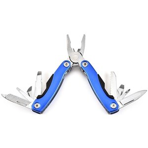 Survival Multi Function Pliers Mini Folding Tongs Including Screwdriver Filer Knife Can Opener Outdoor Equipment Hand Tool Pliers VT0898