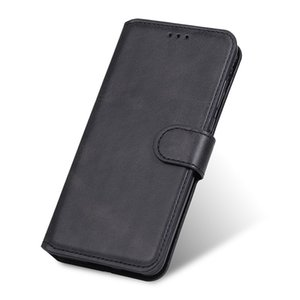 For iPhone 12 11 Pro Max Leather Magnetic Wallet Phone Case Flip Card Slots For Samsung S20 FE S10 S20 Plus Note20 Ultra